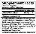 Doctor's Best Best Cinnamon Extract CinnulinPF, 125 mg Vegetarian Capsules