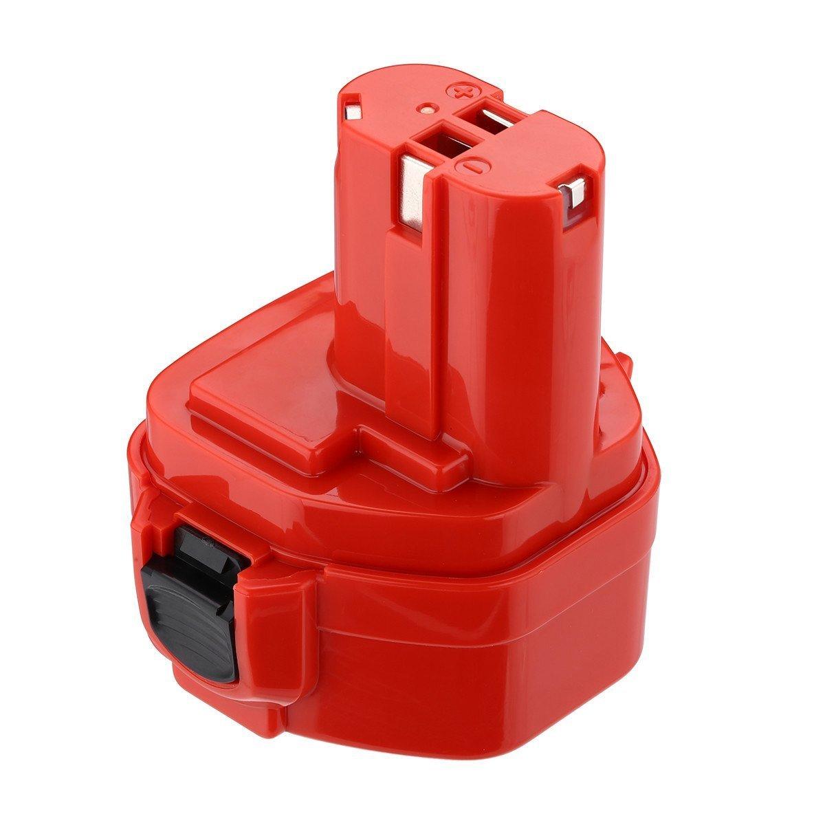 Powerextra Batería de repuesto 12V 2.0Ah Ni-MH para Makita 1200, 1220, 1222, 192598-2, 192681-5