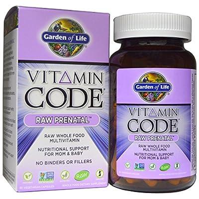 Garden of Life, Vitamin Code, Raw Prenatal, 90 Vegetarian Capsules