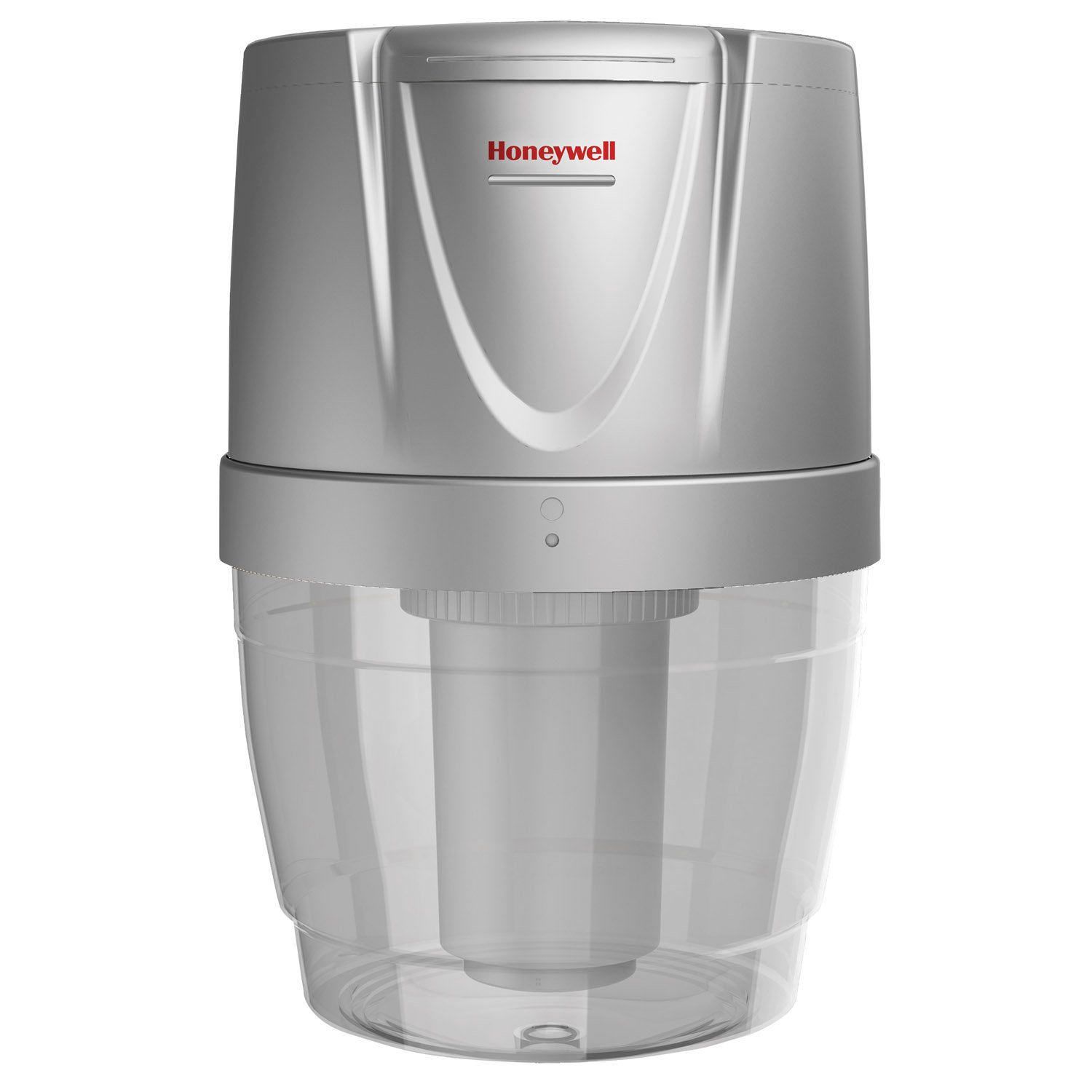 Honeywell HWB101S Filtration System for Water Dispensers, Reduces Chlorine and Particulates to help improve water taste, Avoid water bottles heavy lifting, spills and storage, Silver