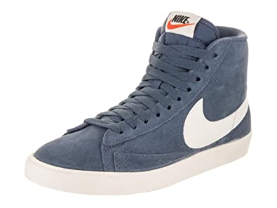 superior quality a176c 9f2d5 ... authentic amazon nike womens blazer mid vntg suede diffused blue sail  casual shoe 6 women us