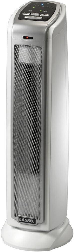 Lasko #5775 Ceramic Tower Heater (Renewed)