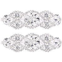 SUPVOX Aplique nupcial de diamantes de imitación