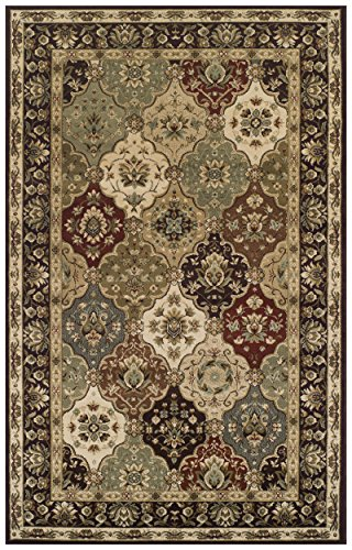 Collection Palmyra (Superior Elegant Palmyra Collection Area Rug, 10mm Pile Height with Jute Backing, Gorgeous Traditional Persian Rug Design, Anti-Static, Water-Repellent Rugs - 8' x 10' Rug)