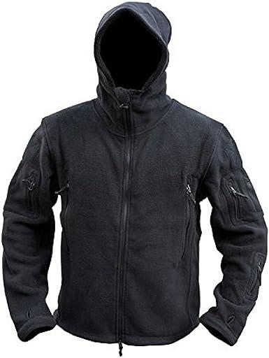 Kombat UK Herren Recon Tactical Hoodie Fleece – Mehrfarbig