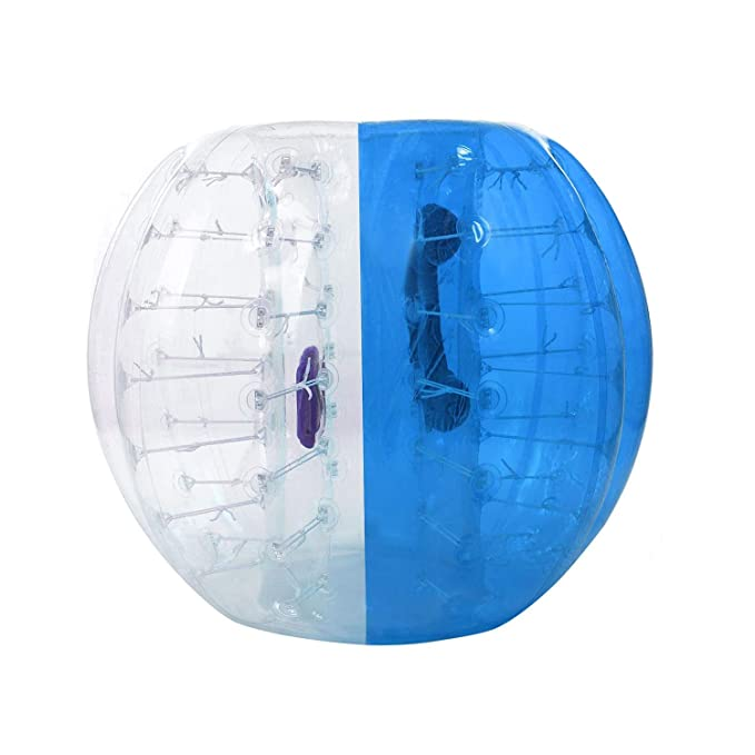 YANGMAN Parachoques Inflable de PVC Burbuja de fútbol Bola Gigante ...