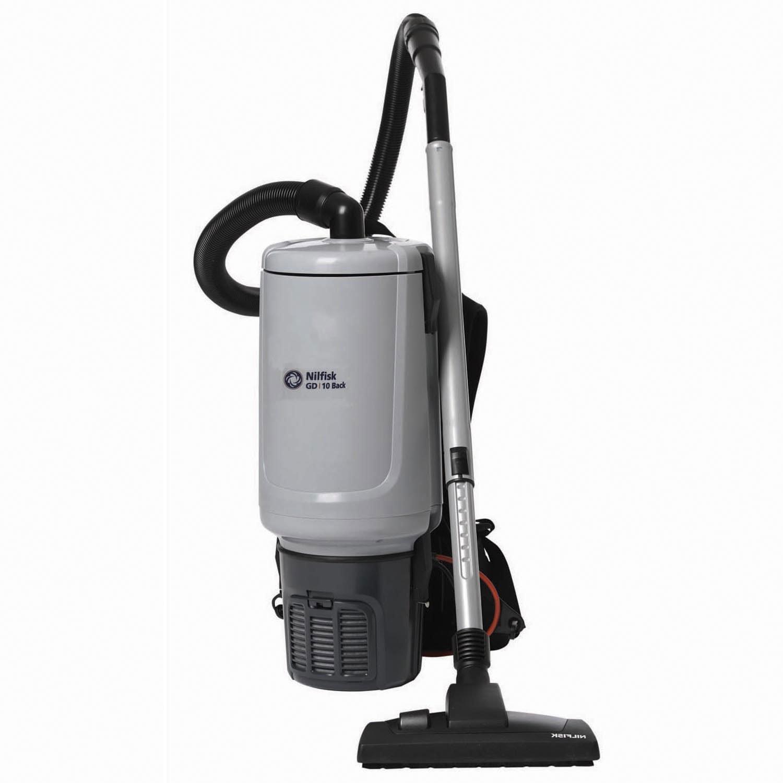 Nilfisk GD10 Back HEPA Vacuum, 120V, 2-3/5 Gal.