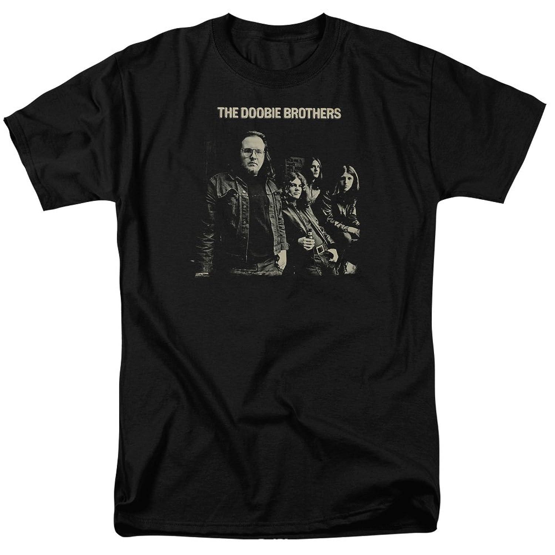 Doobie Brothers 1970's Rock Band Self Titled Studio Album Cover Adult T-Shirt