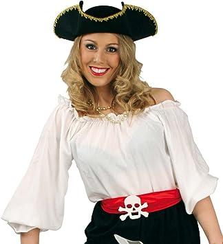 Carnaval 11686 disfraz PIRATA-blusa de colour blanco, diseño de ...