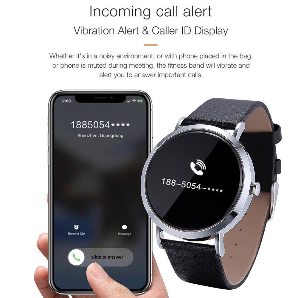 Star_wuvi Reloj Inteligente con podómetro de Ritmo cardíaco y ...