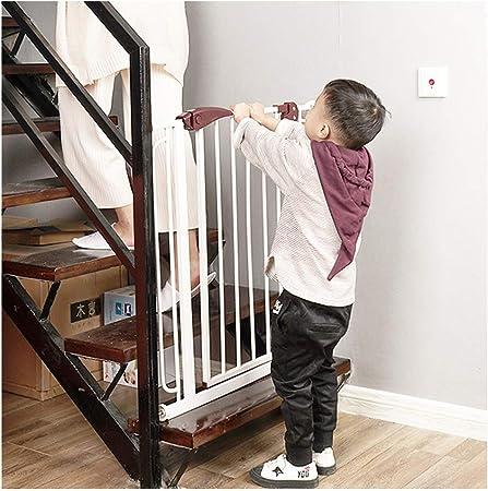Huo Barrera de Seguridad para Mascotas, Chimenea, Cerca, Escaleras, Puerta de Aislamiento, Puerta para Mascotas, Free-Pun (Size : 140-147cm): Amazon.es: Hogar