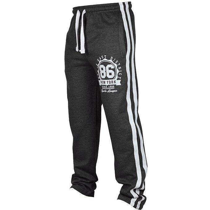 1902835a62eaa1 Pantaloni Tuta Uomo,autorizzazione Pantaloni Uomo Elegante,Moda Uomo Sport  Jogging Fitness Ansimare Sciolto