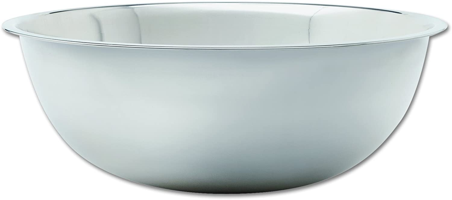 """Adcraft SBL-30 30 qt Capacity, 22-5/8"""" OD x 7-1/2"""" Depth, Stainless Steel Extra Large Mixing Bowl with Mirror Finish"""