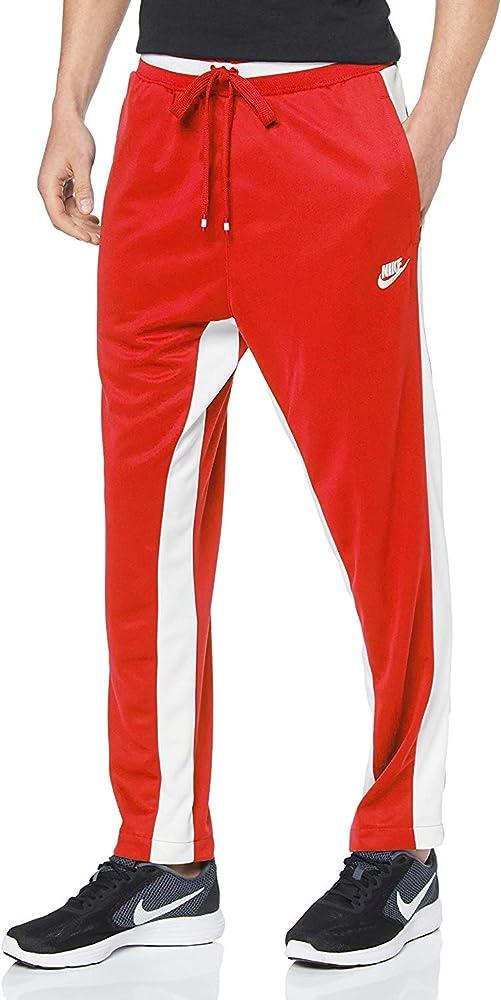 Nike M NSW Air Pant PK Pantalón, Hombre, University Red/Black ...