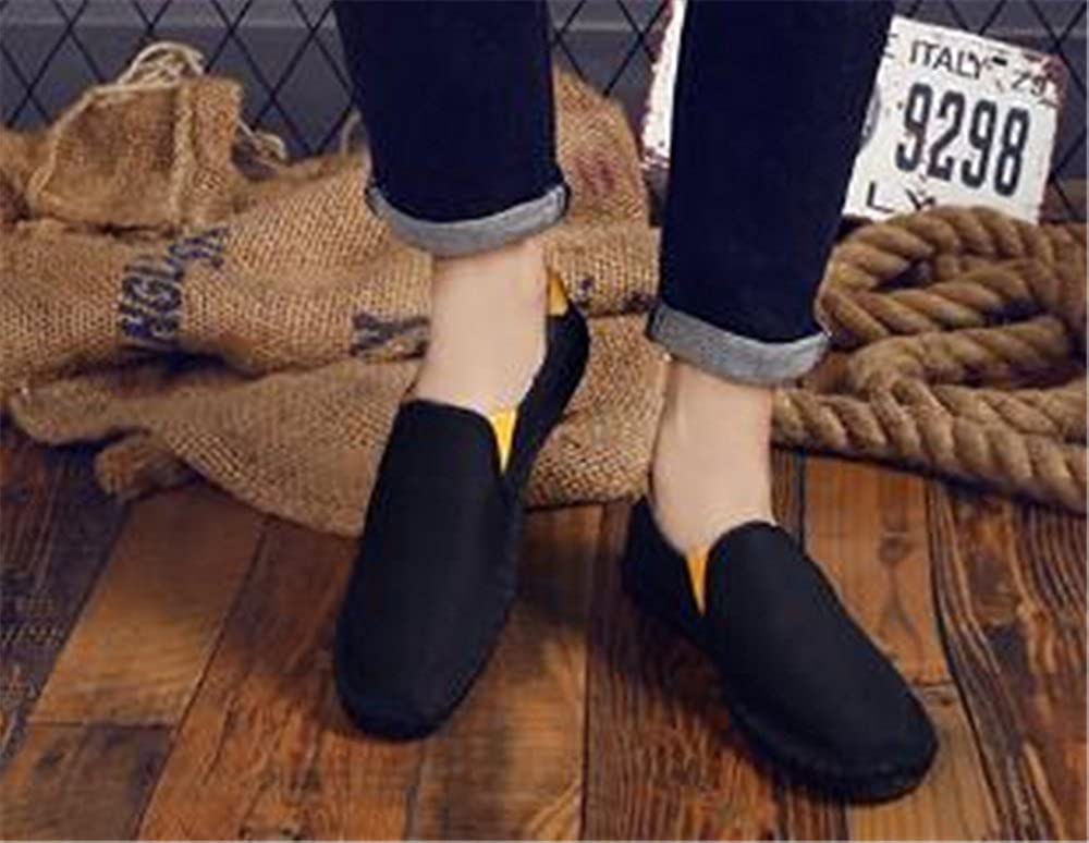 Mens Loafers Classic Casual Canvas Slip On Fashion Shoes Sneakers Flats Shoes
