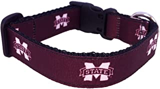 product image for NCAA Mississippi State Bulldogs Dog Collar (Team Color, Small)