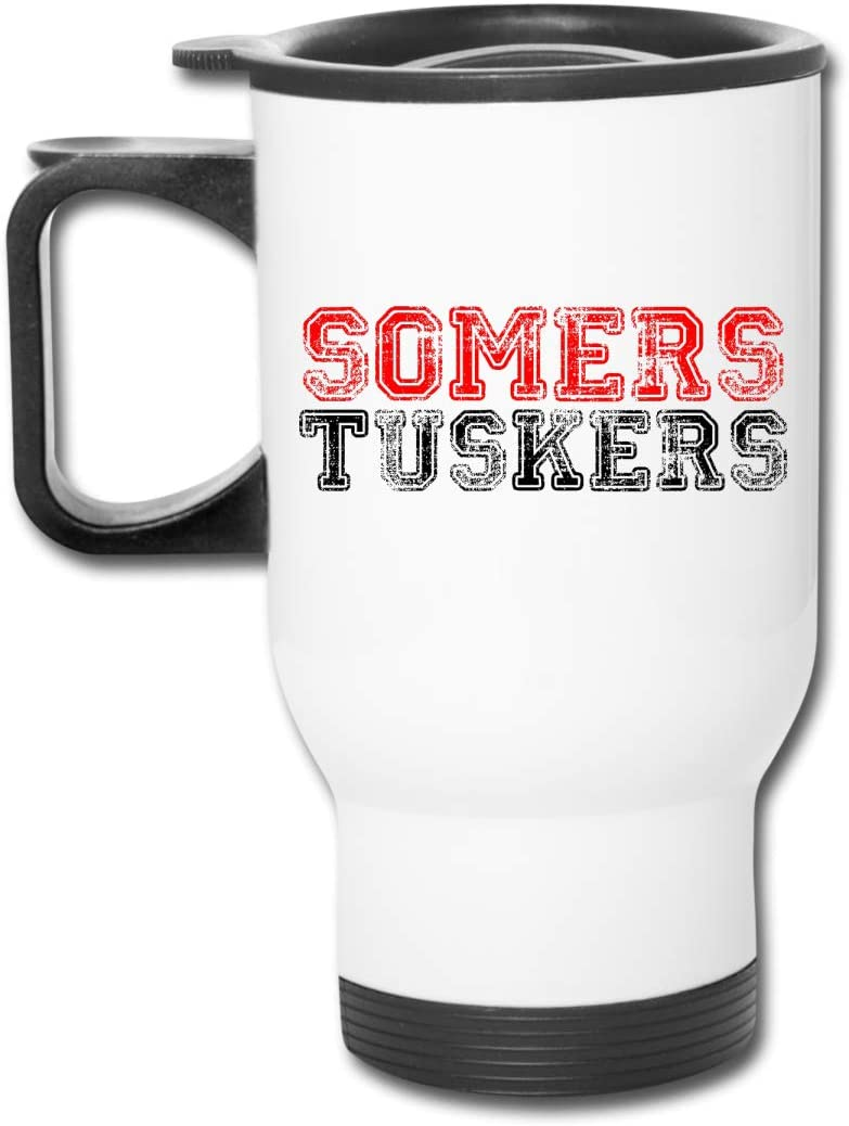 Skrr Somers Tuskers Car Cup Stainless Steel Vacuum Insulated Tumbler Travel Tumblers Water Glasses Coffee Mugs