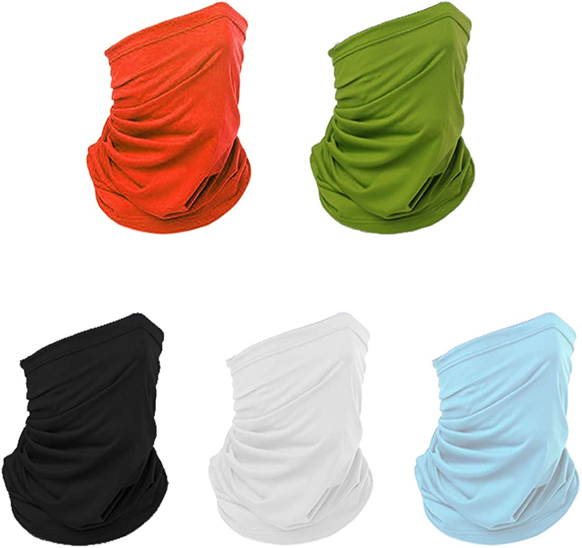 UPF 50+ Ultimate UV Sun Mask Dust Wind Neck Gaiter Great Sun Protection in The Summer and Winter Scarf poshei 2 in1 Bandanas /& Face Mask Sailing, Face mask Headband Half Face Mask for Fishing