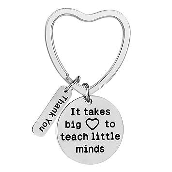 Teacher Appreciation Gifts Key Chain Teacher Gifts For Women Men Necklace Heart