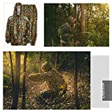 EAmber Ghillie Suit 3D Leaf Camo Youth Adult