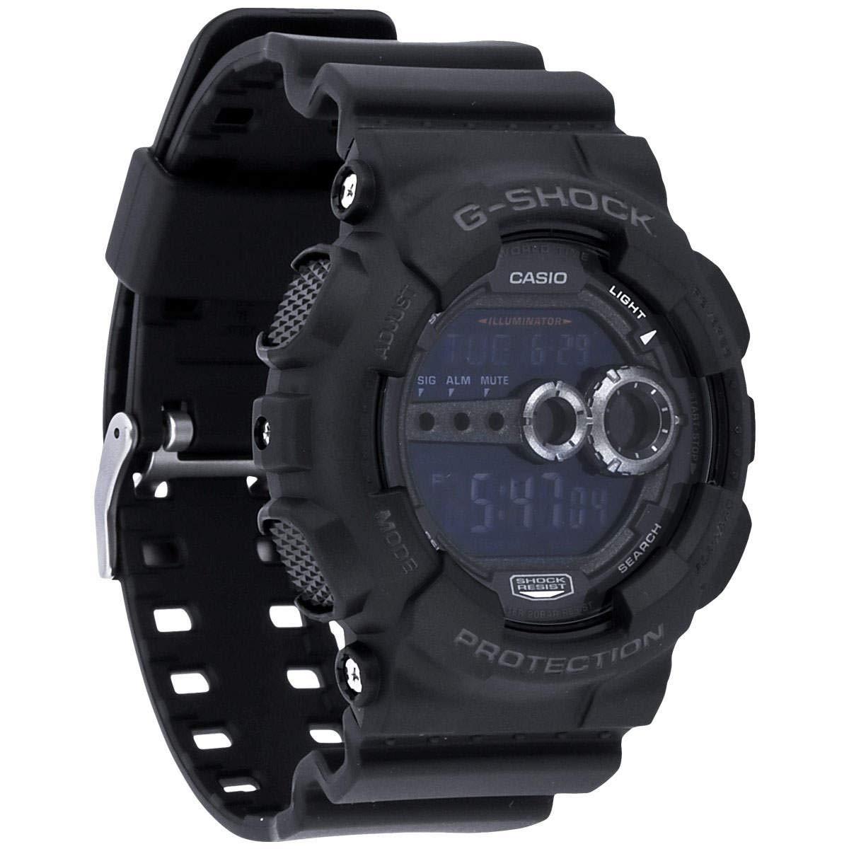 cc148084d65 Relógio Casio Unissex Preto G-Shock GD100-1BDR  Amazon.com.br  Amazon Moda