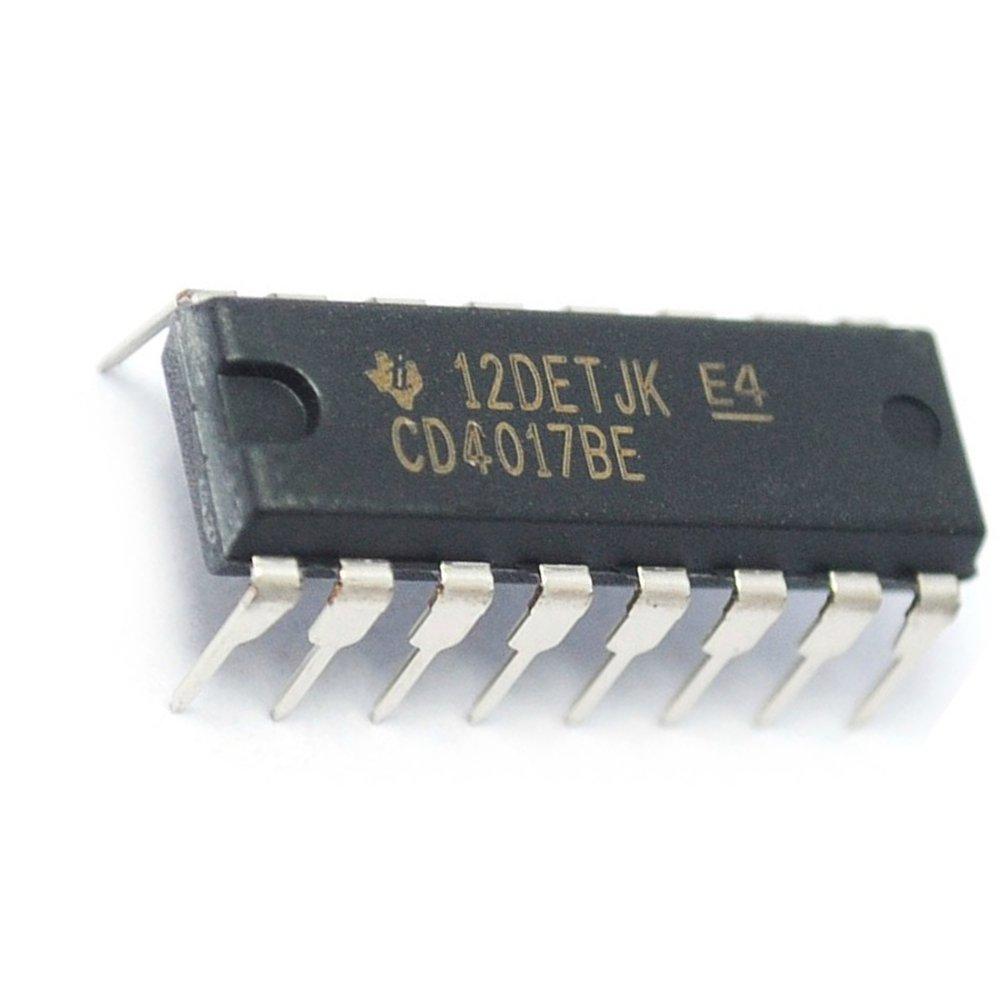 CD4017BE IC 10-OUT 16-DIP Contador de décadas