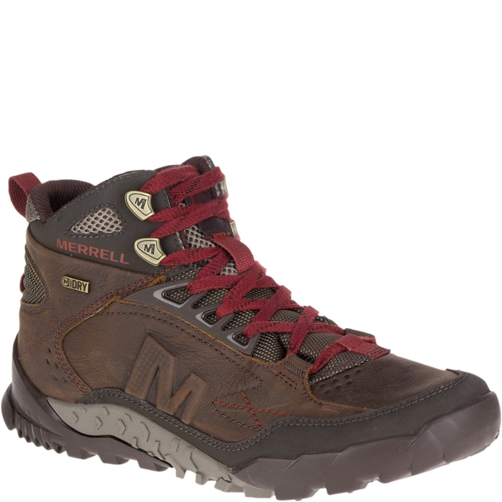 ff6cf2cd186 Merrell Men's Annex Trak Mid Waterproof Hiking Boot