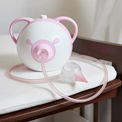 Nosiboo Babycare aspirador nasal (eléctrico) rosa: Amazon.es: Bebé