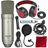 Tascam TM-80 Large Diaphragm Condenser Microphone with...