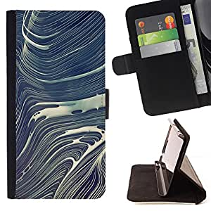 - Winter Stone Abstract Japanese - Estilo PU billetera de cuero del soporte del tir???¡¯????n [solapa de cierre] Cubierta- For Samsung Galaxy Note 4 IV £š Devil Case £©