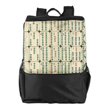 Amazon.com: Cool China Mahjong Travel Casual Backpack Hiking Rucksack School Bag Daypack: Sports & Outdoors
