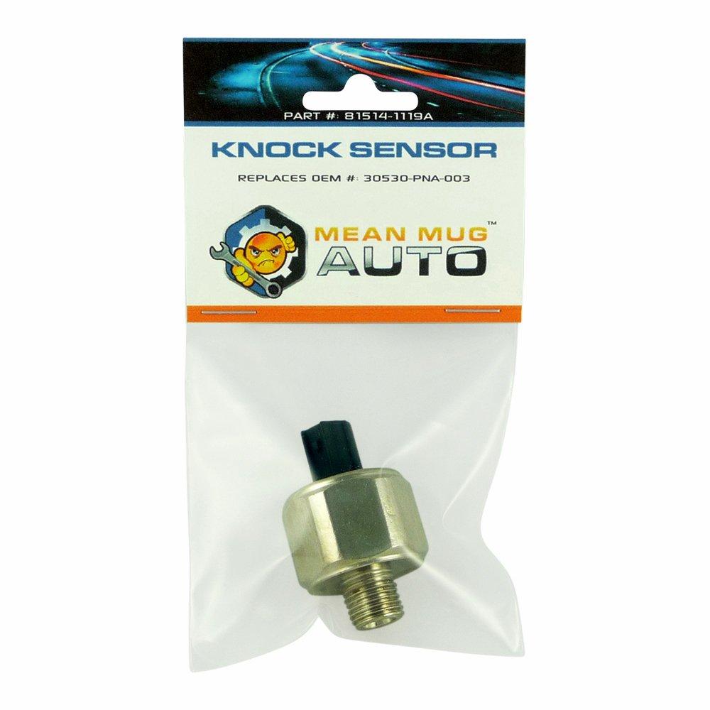 Mean Mug Auto 81514-1119A Knock Sensor - For: Honda, Acura - Replaces OEM #: 30530-PNA-003, 30530-PPL-A01, 1580917, 5S2320, KS197