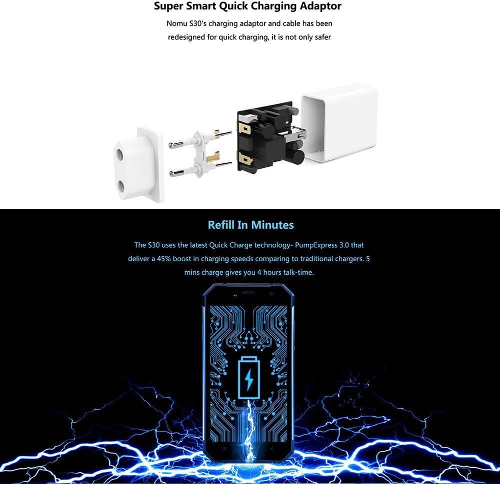 NOMU S30 Smartphone IP68 Batería 5000mAh OTG NFC 4GB RAM 64GB ROM ...