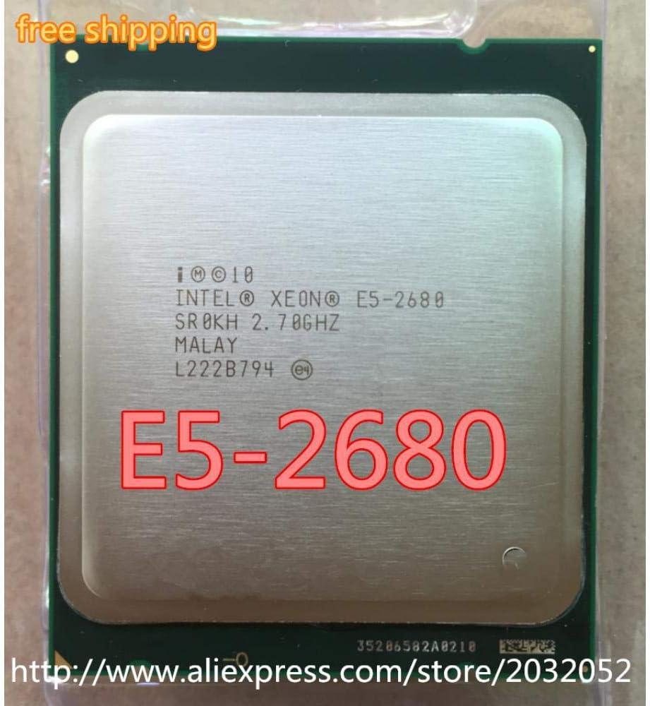 Lntel Xeon E5 2680 E5-2680 8-CORE 2.7GHZ//20MB//L3//130W Cache 8GT//S QPI Socket FCLGA-2011
