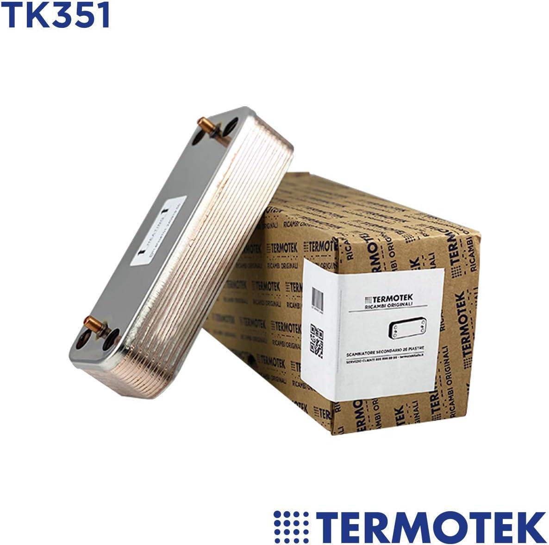 Termotek - Recambio de calderas - TK351 - Desviador separador 16 placas 25 kW