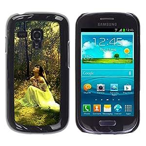 Exotic-Star ( Design Forrest Bride ) Fundas Cover Cubre Hard Case Cover para Samsung Galaxy S3 III MINI (NOT REGULAR!) / I8190 / I8190N