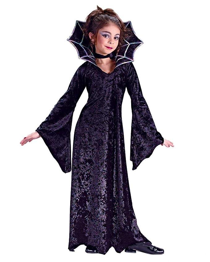 Horror-Shop Spiders Vampire Princess Disfraz de niño Grande ...