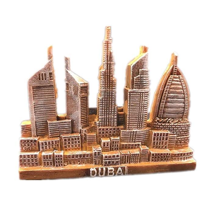 Amazon.com: City World - Imán para nevera, diseño de la ...