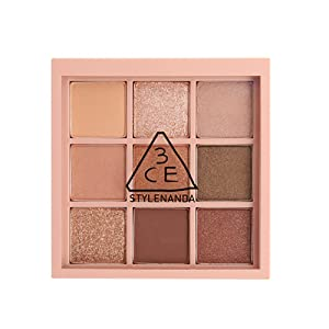 3CE Mood Recipe Multi Eye Color Palette #OVERTAKE 9 Tone on tone Eyeshadows
