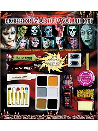 Fun World Unisex-Adult's Horror Make-up Kit, Multi, Standard]()