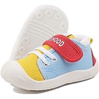 DEBAIJIA Baby Första Gångskor 1-4 år Barnskor Småbarn Skor Spädbarn Utomhusskor Duk Pojke Flicka Sneaker Halkfria…