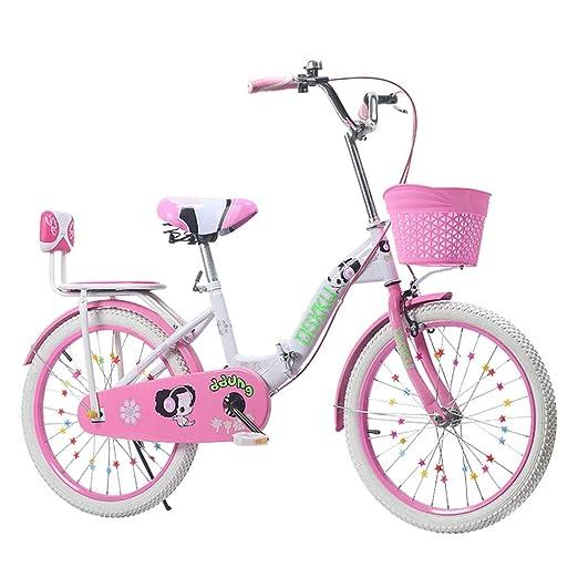 Bicicletas Triciclos Plegable For Niños Rosa Púrpura For Escolares ...