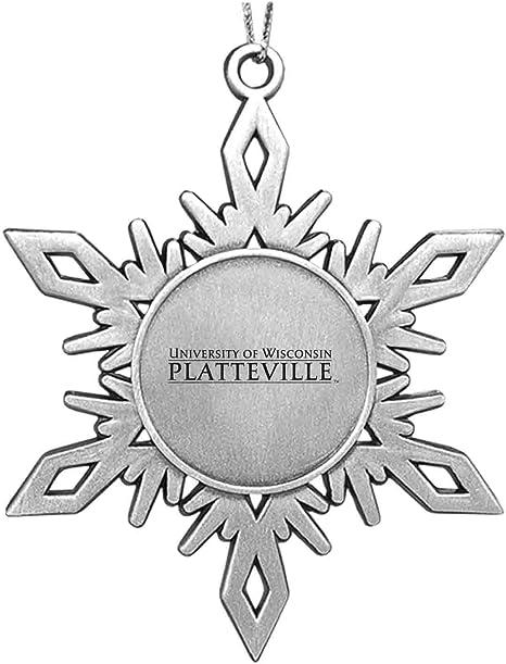 University of Detroit Mercy|Snowflake Ornament|Pewter LXG Inc