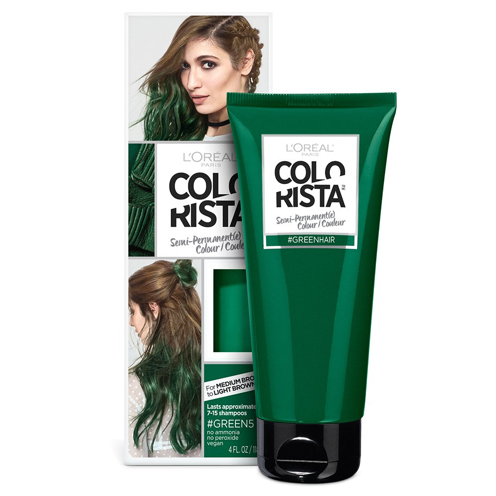 Amazon.com : L\'Oreal Paris Hair Color Colorista Semi-Permanent for ...