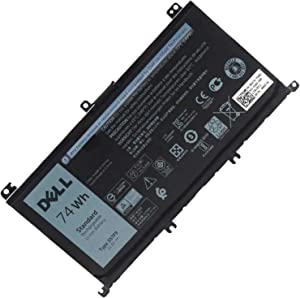 357F9 Laptop Battery Replacement for Dell 15 7559 7557 5576 5577 7566 7567 7759 INS15PD NS15PD Series 357F9, 0GFJ6, 71JF4, 0357F9, 00GFJ6, 071JF4, P57F, P57F003, P65F, 11.1V 74Wh