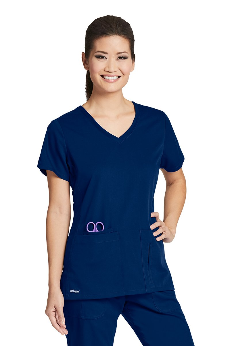 Grey's Anatomy Active 41423 Top Indigo M