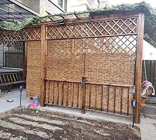 ZLI Persianas Enrollables Excelentes Persianas Enrollables de Láminas, Cortina Opaca de la Puerta de la Ventana Interior y Exterior, para el Balcón del Jardín Gazebo del Jardín (Size : W 80×H 210cm):