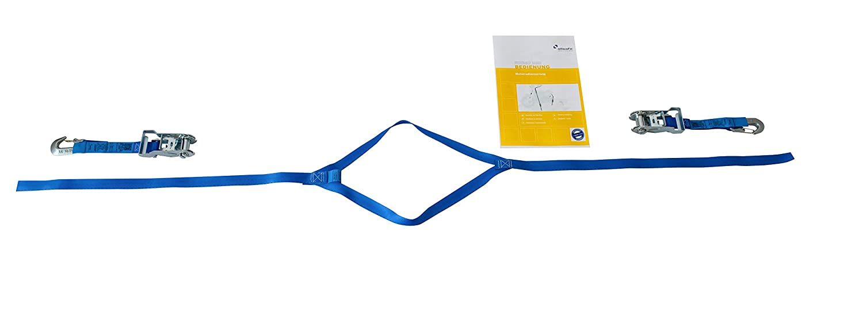 kit supplementare per il montaggio della ruota posteriore blocco di sicurezza per il trasporto sicuro per motociclette allsafe