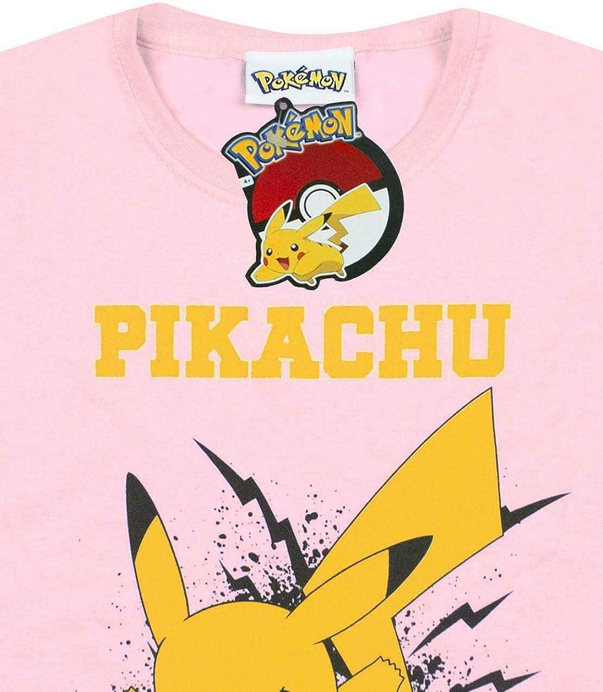 Bambina Maglietta Ufficiale con Pikachu Pok/émon