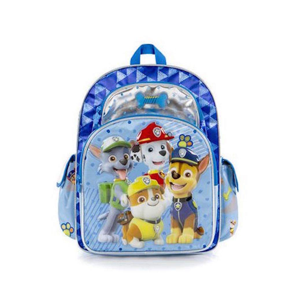 Heys PAW Patrol Backpack - Chase,Marshall, Rubble and Rocky - Blue